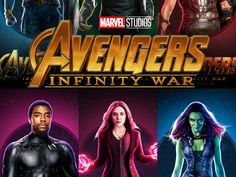"Avengers ""Infinity War"" Marvel Movie Posters, Marvel Movies, Avengers Infinity War, Art, Art Background, Kunst, Performing Arts, Art Education Resources, Artworks"