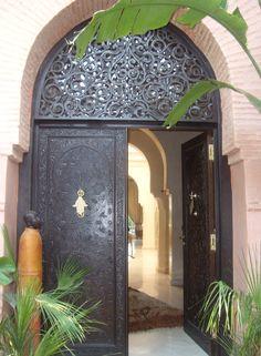 El palmeral (Marrakech)