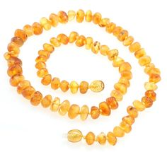 Raw Amber Teething Necklace Adults Size for Mom Teething Nursing Necklace Certified Genuine Baltic Amber -- To view further for this item, visit the image link.
