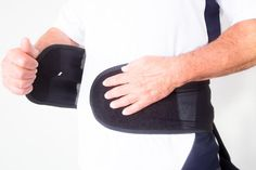 "#NMT #LowerBackBrace"" New Natural #Back #PainRelief #PhysicalTherapy Adjustable Black #Support #Belt, Scoliosis   #HealthCarePain #NMT"