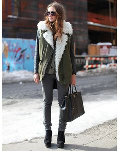 Great colours for the fall.. greys and earth tones