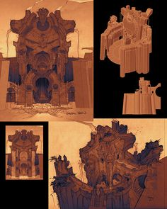 Paul Richards - Darksiders II -  http://autodestructdigital.blogspot.com/