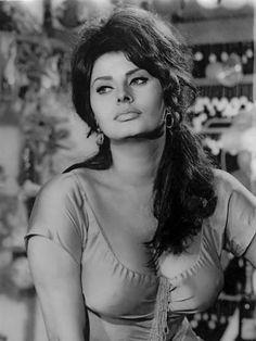 summers-in-hollywood: Sophia Loren in Boccaccio. Bridget Bardot, Brigitte Bardot, Old Hollywood Stars, Classic Hollywood, Beautiful Celebrities, Beautiful Women, Divas, Sophia Loren Images, Italian Actress
