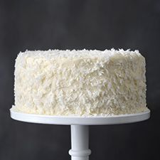 Coconut Cake - March, 2015 - found at King Arthur Flour. Oh, my! Coconut - my one weakness.   Sue Dillier