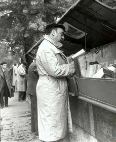 1949 le poète chilien Pablo Neruda vient-il chercher l'inspiration? Photo de Marcos Chamudes