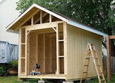 storage sheds buildings | My Shed Plans – How to Construct Wood Storage Buildings | Cool Shed ... by GJBARNES