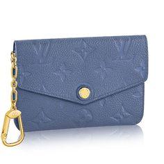 gucci key pouch. louis vuitton key pouch brand new authentic louis vuitton empreinte leather blue denim color. gold gucci key pouch