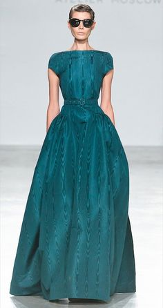A beautiful ball gown for mother of deb/ mother of marshal - plus, it has pockets!