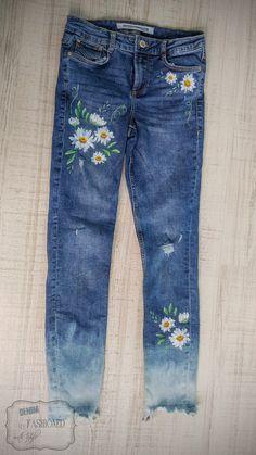 0d03eb5b1e9d 21 best Flower Jeans images on Pinterest   Dressmaking, Denim jeans ...
