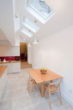 Islington, Greater London, Side Return Extension, Side Extension, Kitchen Extension, Victorian Terraced House, Bi-Fold Doors, Kitchen, Rear Extension, Roof-lights, Glass Roof, Kitchen, Pitched Roof