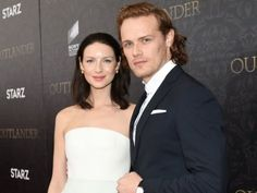 *New* Sam Heughan and Caitriona Balfe Interview with AP from the NY Premiere   Outlander Online