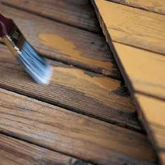 There's no secret to deck maintenance—repair the deck, clean it and protect it. Deck Maintenance, Deck Decorating, Home Upgrades, Deck Design, Old Houses, Backyard, Patio, Deck Staining, Restoration