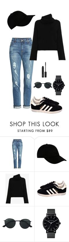 """""""Mariana"""" by briquel13287 on Polyvore featuring KUT from the Kloth, STONE ISLAND, Chloé, adidas, Ray-Ban and ZOEVA"""