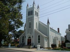 Saint Agnes Church, Greenport New York, Long Island. I got married  in St. Agnes in July of 1977. Still married!