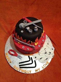 mechanical engineer cake - Google Search Cake Icing, Eat Cake, Mechanic Cake, Engineering Cake, Cupcakes, Cupcake Cakes, Kreative Desserts, Adult Birthday Cakes, Happy Birthday