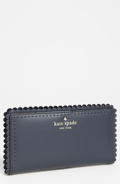 scalloped KS wallet.