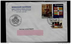 POSTAL USED COVER - VATICAN TO BELGIUM ( Swiss Guards , uniforms, EUROPA CEPT, coach ) 1997 - Delcampe.net
