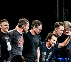 Pearl Jam - need to seem them again so I can steal Eddie's wine again back stage