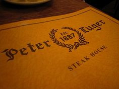 Peter Luger Steakhouse - delish!