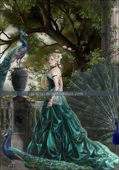 Hera (Juno) Greek Goddess - Art Picture by NeneThomas