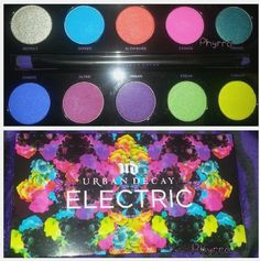 My Urban Decay Electric Pressed Pigment Palette Arrived read more at http://cosmeticscoliseum.com/
