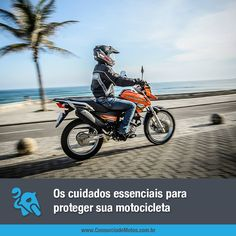É de extrema importância conferir itens elétricos e mecânicos, além de ter alguns cuidados especiais com a motocicleta. Confira algumas dicas em nossa matéria: https://www.consorciodemotos.com.br/noticias/os-cuidados-essenciais-para-proteger-sua-motocicleta?idcampanha=288&utm_source=Pinterest&utm_medium=Perfil&utm_campaign=redessociais