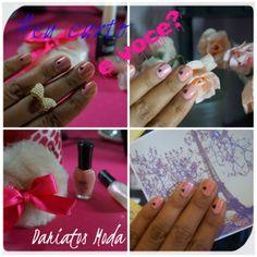 l♥ve Nails... unhas delicadas de coração! www.dariatosmoda.blogspot.com.br