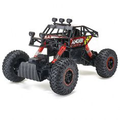 [US$49.99] 1/14 2.4G 4WD Racing RC Car 4x4 Driving Double Motor Rock Crawler Off-Road Truck RTR Toys #2.4g #racing #driving #double #motor #rock #crawler #offroad #truck #toys