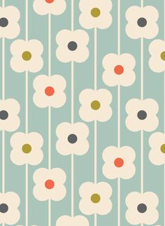 ORLA KIELY ABACUS FLOWER PRINT