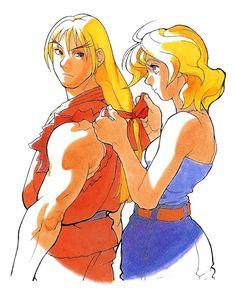 Street Fighter Zero: Ken and Eliza