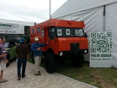 Cool Land Rover Truck at the Palm Beach Boat Show #pbibs http://www.landroverpalmbeach.com/