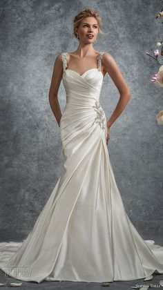 cb88fdf4b64a1 57 Best bride images | Bridal gowns, Alon livne wedding dresses ...
