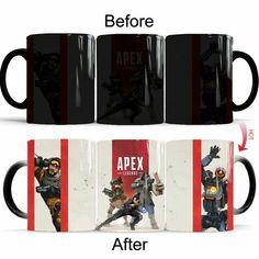 APEX Apex legends Changing Mug Heat Sensitive Magic Cup With Box