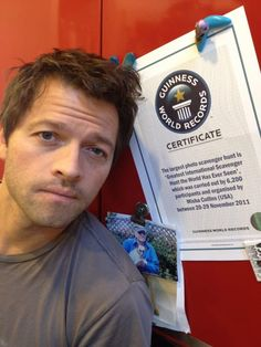 """You may have heard the term GISHWHES, but what is it? and what does it have to do with Misha? Well during his college years Misha used to take part in some extreme scavengers hunts, so he decided to create his own hunt for his fans to participate in and to promote acts of kindess. Misha explained GISHWHES in a 2013 Interview with Guinness world records:""""The primary reason is that I loved the idea of thousands of people from all over the world connecting to create incredible things that would…"""