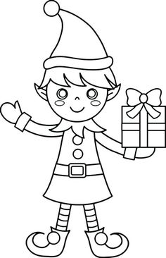 Elf On The Shelf Coloring Page Elegant Free Printable Elf ...