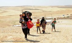 Samaritan's Purse is providing relief for the refugees fleeing from the violence in Syria.