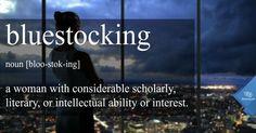 Word of the Day: Bluestocking