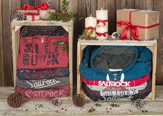 Hoodies are a great gift idea for friends and family this Christmas - We've got Christmas wrapped up, so get yours now at Saltrock