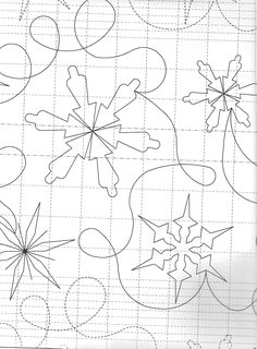 Quilting pattern. I love snowflakes   Products I Love   Pinterest ... : snowflake quilting design - Adamdwight.com