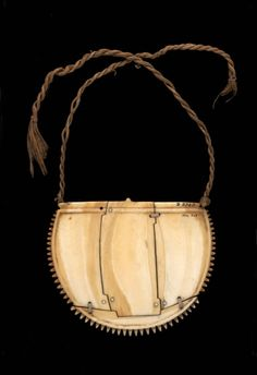 Fiji | Breast Ornament (Civatabua) |  early 19th century|  Whale ivory, fiber  | Necklace | Museum of Archaeology and Anthropology, University of Cambridge