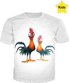 Fun Chicken Run design Kids T-shirt. Chicken Runs, Double Take, Style And Grace, Print Design, Organic Cotton, Running, Fun, Mens Tops, Kids