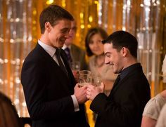 George MacKay and Kevin Guthrie in Sunshine on Leith Sunshine On Leith, The Proclaimers, George Mackay, All Movies, Attractive People, British Actors, Oh The Places You'll Go, Musicals, Singer