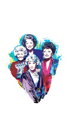 14 Golden Girls Phone Wallpapers to Thank You for Being a Friend - My list of the most creative tattoo models Watch Wallpaper, Girl Wallpaper, Wallpaper Backgrounds, Iphone Wallpaper, Wallpapers, Phone Backgrounds, Golden Girls Tattoo, Golden Girls Quotes, Golden Girls Funny