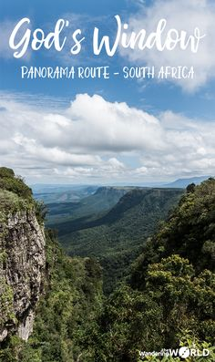 travel to south africa - God's Window, a popular stop on the Panorama Route Africa Destinations, Travel Destinations, Holiday Destinations, Places To Travel, Places To Visit, Cultural Experience, Koh Tao, African Safari, Africa Travel