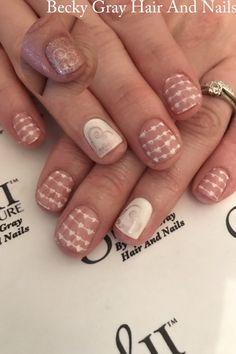 #gelii #manicure rosette #gel_two #nailart #valentinenails #showscratch #scratchmagazine #gelnails