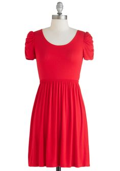 Best Dressed Rehearsal Dress. This item was picked by you in our Be the Buyer Program and will be sold exclusively online at ModCloth! #red #modcloth