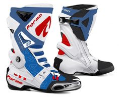 Forma Ice White: Motorcycle Racing Boots, $357.73 | Daemon's ...