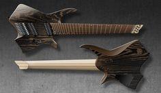 "Padalka Guitars Neptune.  Body: White ash Finish: satin Neck: Maple, 3 pieces Fretboard: Pau-ferro Scale: 27""-29,5"" Number of frets: 24 (Jescar Nickel Silver 18% 2,3 х 1,4 mm) Number of strings: 8 Bridge: Mera Guitars Submarine 2 Tuners: Mera Guitars Pickups: Fokin Pickups Electronics: 1 Volume, 5-way switch"
