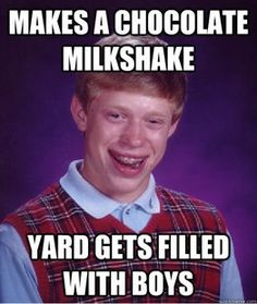 Bad Luck Brian memes-and-such