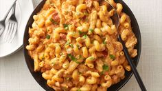 Slow-Cooker Cheesy Chicken Enchilada Pasta - Slow Cooker - Ideas of Slow Cooker - This slow-cooker pasta packed with Mexican-inspired flavors is cheesy easy and sure to have everyone asking for seconds every time you make it. Slow Cooker Pasta, Crock Pot Slow Cooker, Crock Pot Cooking, Slow Cooker Chicken, Slow Cooker Recipes, Crockpot Recipes, Cooking Recipes, Chicken Enchilada Pasta, Cheesy Chicken Enchiladas
